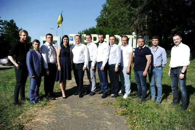 У Тернопіль завітали представники політичної партії «Слуга народу» (прес-служби)