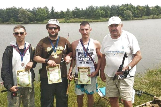 На Тернопільщині відбулися змагання зі спортивної риболовлі