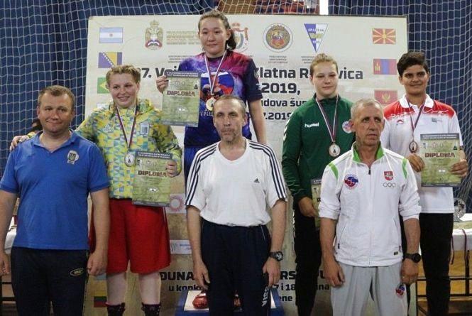 Олеся Крисюк стала срібною призеркою Міжнародного турніру з боксу у Сербії