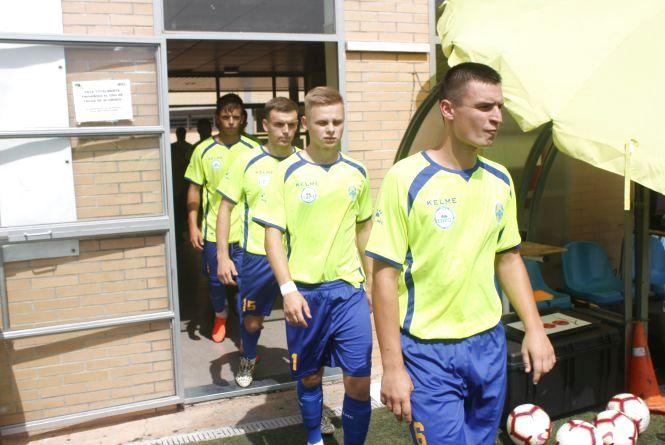 Студентська команда ТНПУ провела другий матч на чемпіонаті Європи з футболу