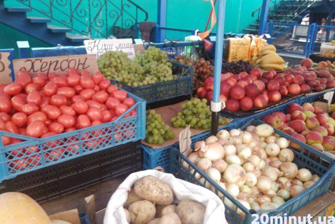 Овочі та фрукти на ринку: коли ціни почнуть знижуватися