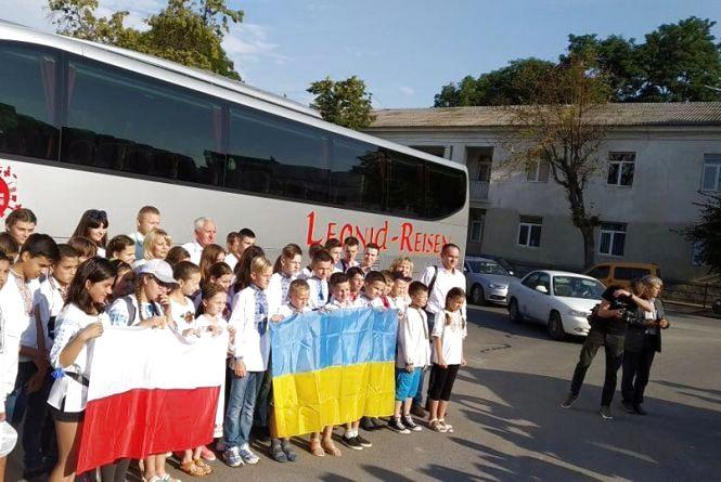 Діти воїнів з Тернопільщини поїхали відпочивати у Польщу