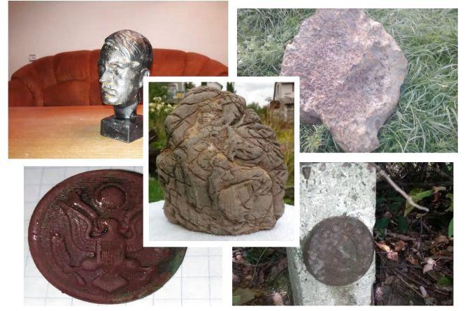 Радянський стовп, бюст Гітлера та метеорит: що дивного продають тернополяни в інтернеті