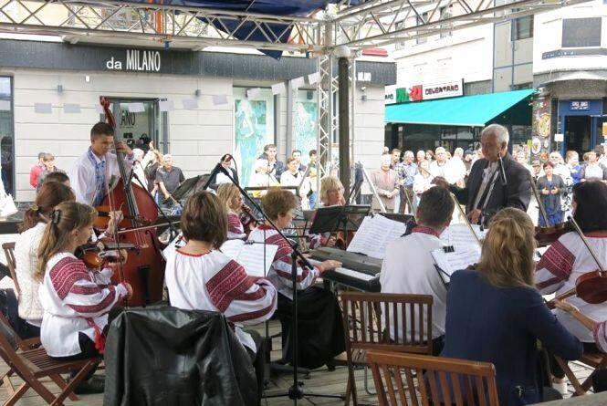 """У центрі Тернополя буде співати """"Зоринка"""" та заграє Галицький оркестр"""