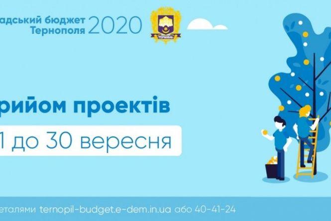 На Громадський бюджет Тернополя уже подали чотири проєкти