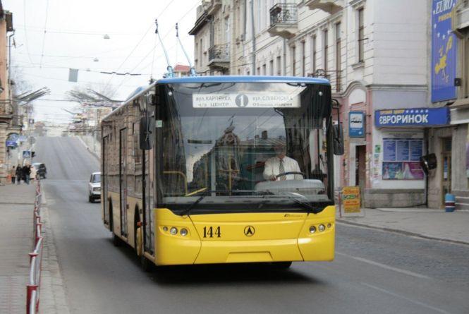 Тернополянка просить повернути маршрут першого тролейбуса