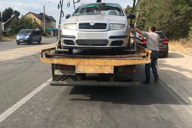 """У Тернополі патрульні зупинили водія """"під кайфом"""""""