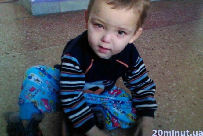 Допоможіть 3-річному Дмитрику із дитячого притулку бачити світ