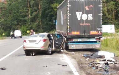Легківка зіткнулась із вантажівкою: водій з Тернополя загинув (оновлюється)