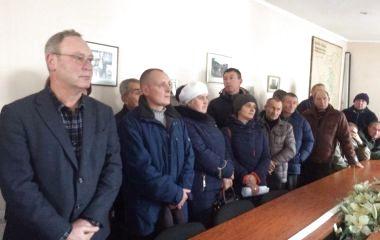 Дорожники Тернопільщини знову вимагають виплати заробітної плати за півроку (пряма трансляція)