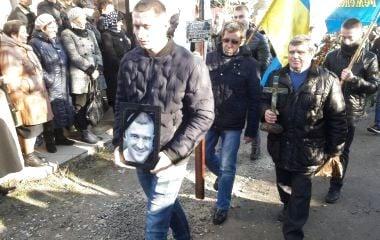 У Кременці поховали Андрія Пушкаря. На похороні - тисячі людей