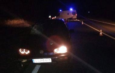 В нічній ДТП на Збаражчині загинув пішохід