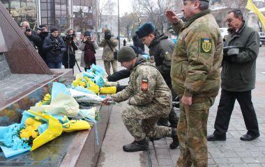 Пам'ятаймо їхній подвиг... На площі Героїв Євромайдану вшанували загиблих
