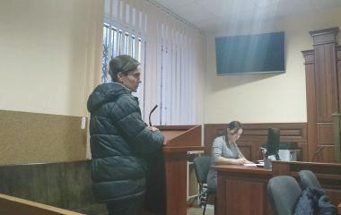 Суд над Овчаруком: понята заявила, що підписала незаповнений бланк патрульних