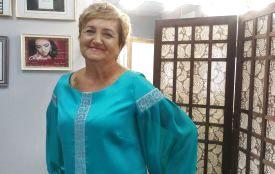 Пенсіонерку Дарію Теслюк запросили стати моделлю дизайнерського одягу