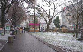 Відео дня: Тернопіль починає засипати снігом