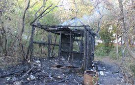 На Тарнавського горіла дача: мешканці переконані в тому, що це був підпал