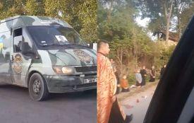 Стоячи на колінах, із свічками та молитвою: на Тернопільщині зустріли тіло загиблого Михайла Цимбалістого
