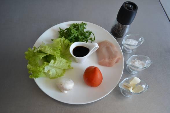Підготувати усі необхідні продукти для приготування салату