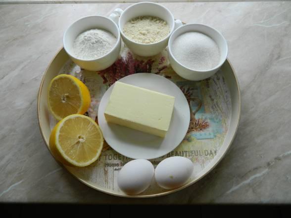 Підготувати усі необхідні продукти для випікання тарталеток