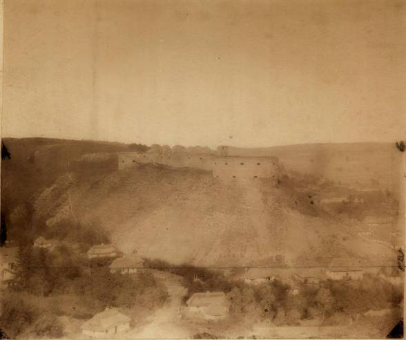 Найстаріша фотографія Теребовлі 1865 року.