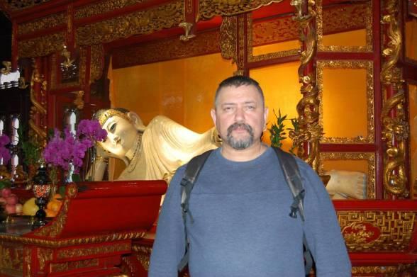 Шанхай. Храм Нефритогового Будди