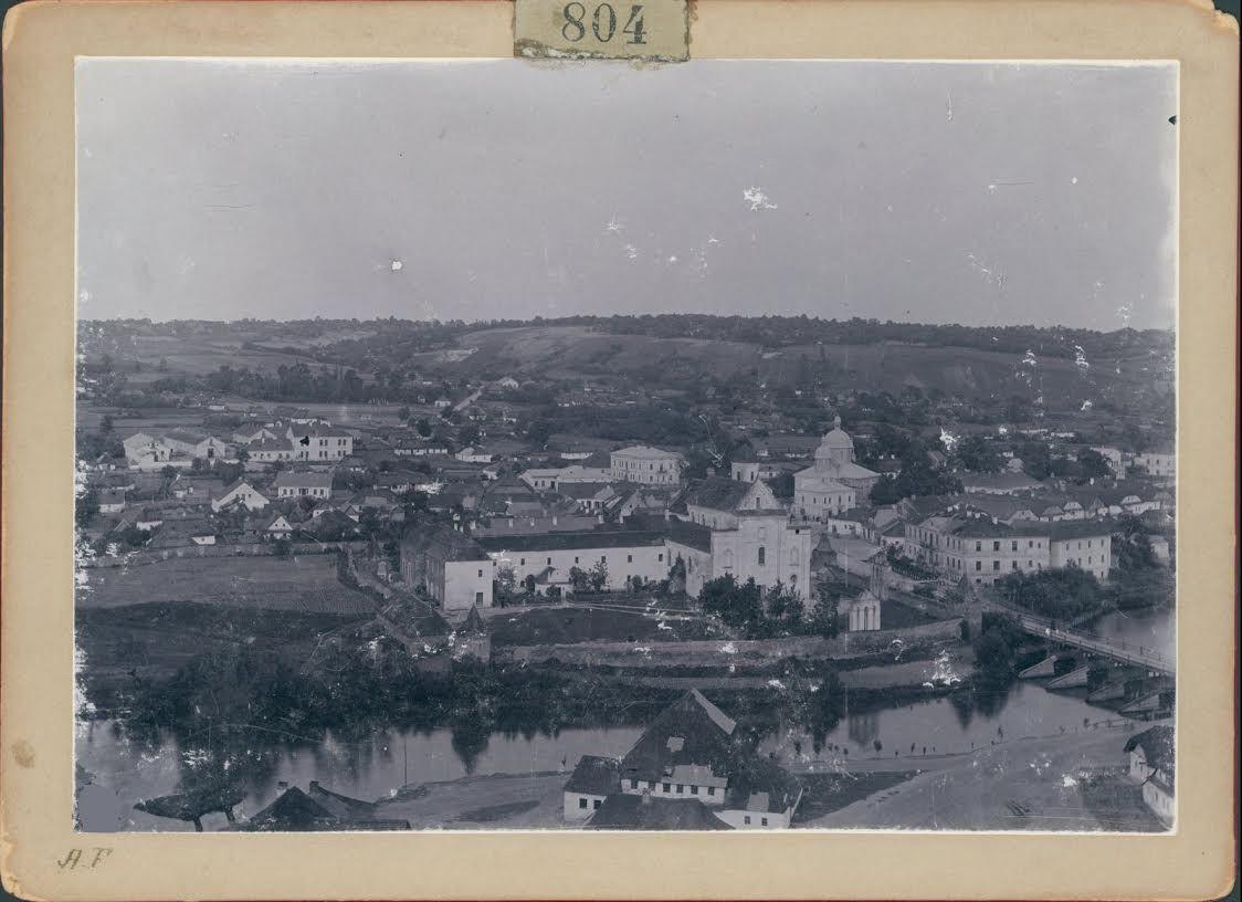 Вид на місто на межі століть.